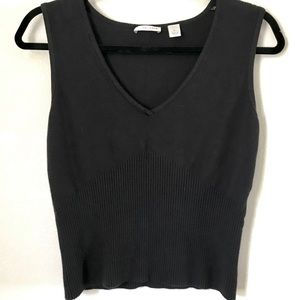 😊Halogen😊 Black Sweater Tank/Vest
